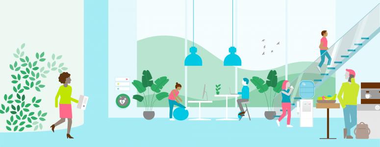 gezonde werkomgeving en een gezonde werkplek
